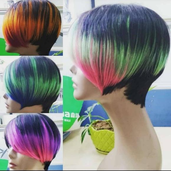 COPY - Human hair bob wig